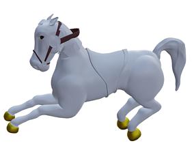 Horse nature 3D model