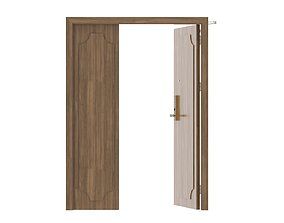 3D model Modern Single Wood Door