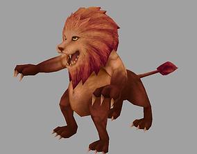 3D model monster Lion