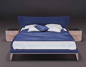 Bamax Night Bedroom Set 3D model