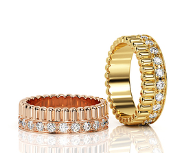 Ring Band R BA 0043 3D print model