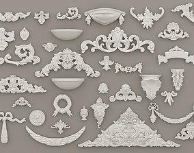 Panels and Decorative Elements Gaudi 3D