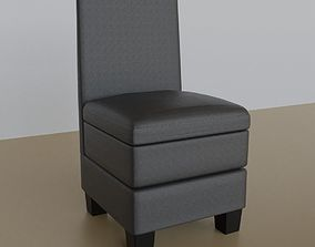 confortable Leather Chair 3D