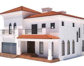 3D model House castle