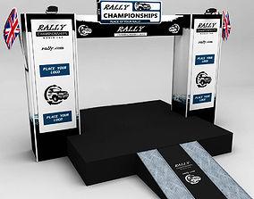 WRC motor sport podium 02 3D