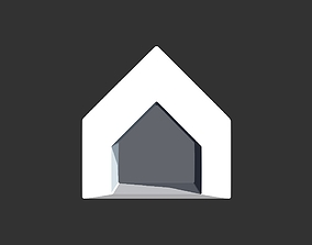 Dog house 3D print model