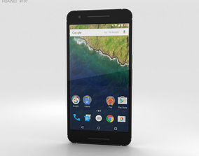 3D Huawei Nexus 6P Frost