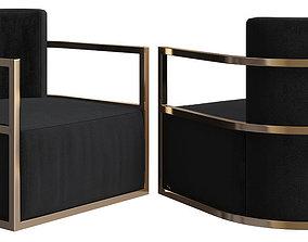 3D model eichholtz-emilio-chair
