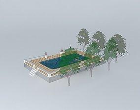 3D model Pool Skimmer