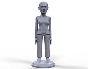 AOC stylized high quality 3D printable miniature