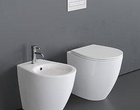 3D model Esedra by SDR Ceramiche Bull 500 WC