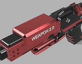 weapon 3D HANDGUN