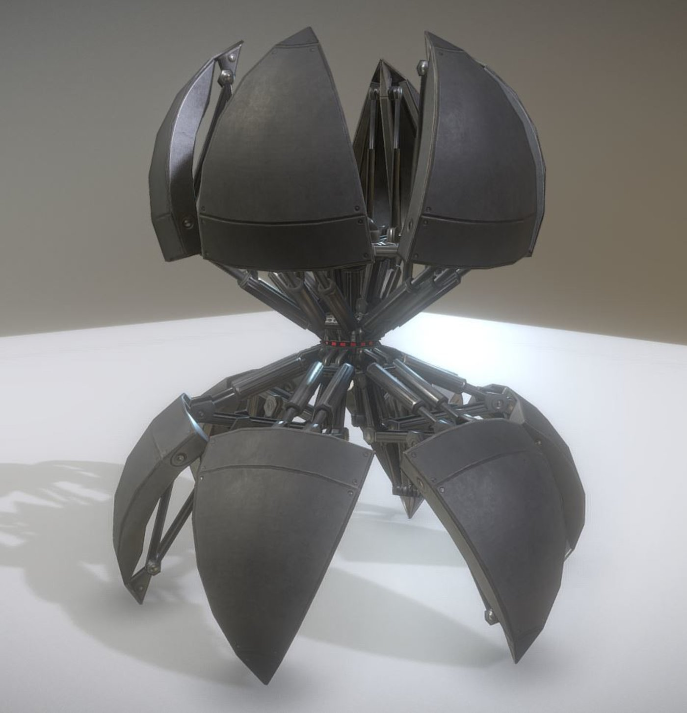 Sphere-Bot with hydraulics