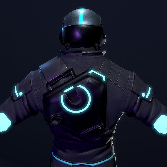 Sci-Fi Soldier