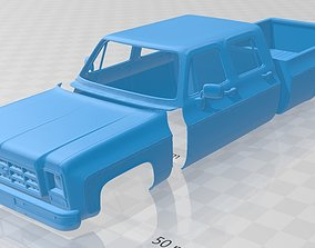 K30 Crew Cab 1979 Printable Body Car
