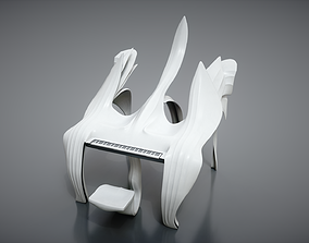 Piano Concept 3D model