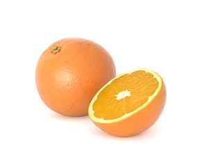 Orange Fruit Photoscan 3D model