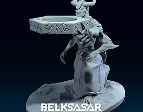 Candle Holder and Pen Holder Demon 3D printable model