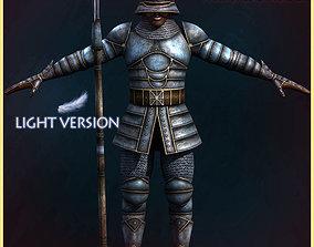 3D model City Guard Light Version