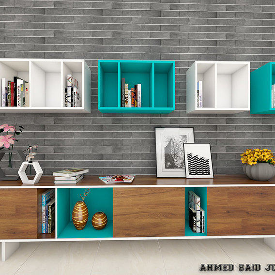 Design Of cabinet Area