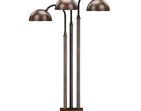 Porta Romana - ARC LAMP BRONZE SLB64 3D model