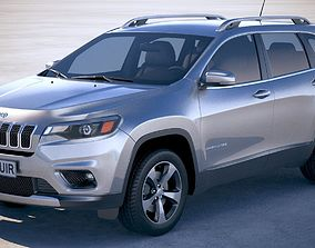 3D Jeep Cherokee Limited 2019