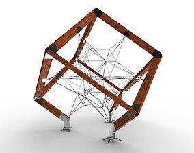 Cube ArtObject Complex 3D