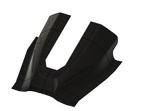3D print model F16 Glareshield STL Homecokpit