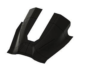 3D printable model F16 Glareshield STL Homecokpit