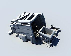 3D asset Goldmine - Level 1 - Clash Of Clans