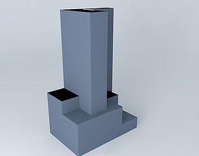weird tower 3D model