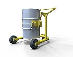 3D model Drum Carrier