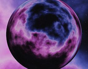 Nebula Space Environment HDRI Map 006 3D model
