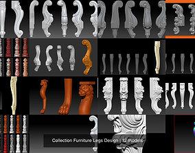 Collection Furniture Legs Design 3D