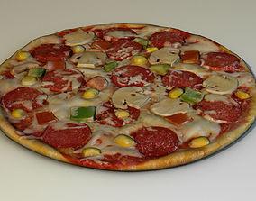 domino Pizza 3D model