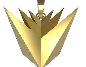 Verge XVG Pendant - CoinMarketCap - 3D model xvg