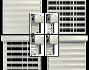 Roll shutter systems shelf 3D