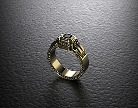 3D printable model ring of GOD FATHER