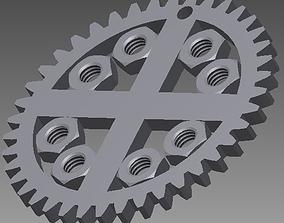 Technical pendant 3D print model