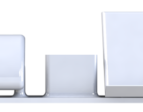 3D printable model Multi-functional Apple Products Stand