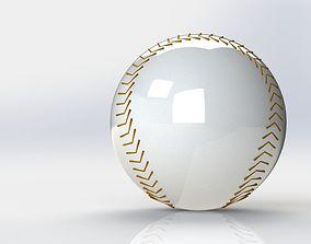 3D rigged Baseball Ball