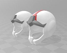 Gundam Earth Federation Space Helmet 3D printable model