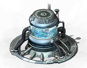 Machinery - Spacecraft - Functional Objects 02 3D model