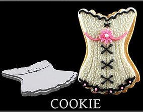 3D asset Cookie Corset