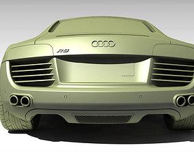 model 3D model Audi R8