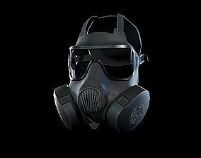 3D asset M50 Gasmask