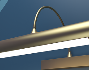 Wall Lamp 3D model PBR