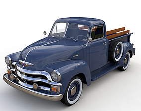 3D CHEVY 3100 PICKUP 1954