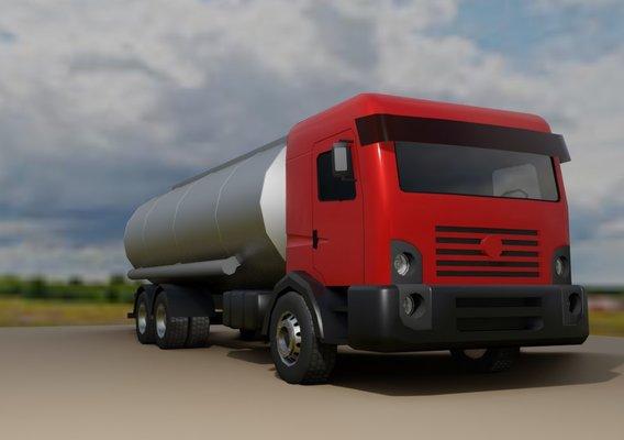 Truck Red Constellation