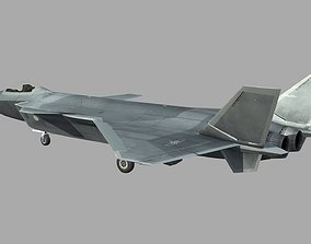 China Chengdu J20 J-20 Fighter 3D model